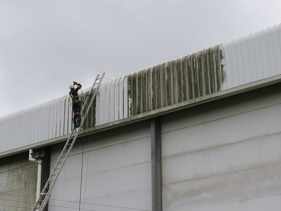 Cladding And Roof Wash