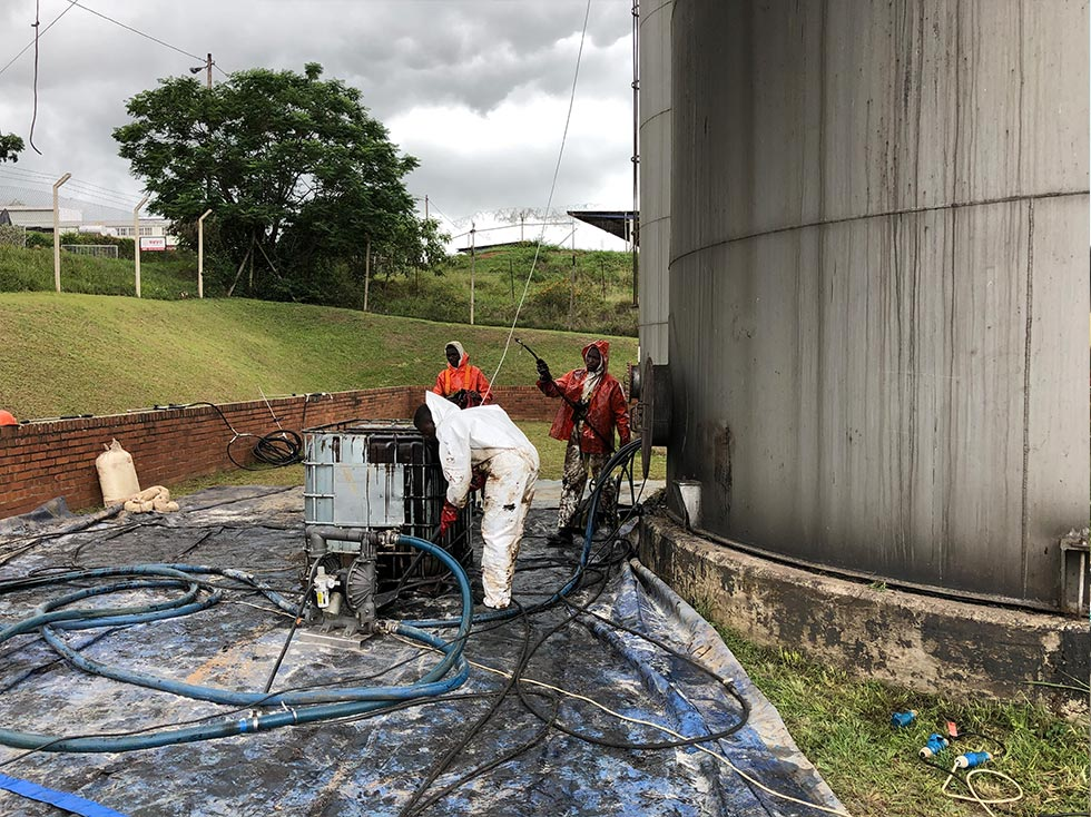 HFO Tank Cleaning
