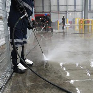 Ultra High Pressure Floor Cleaning