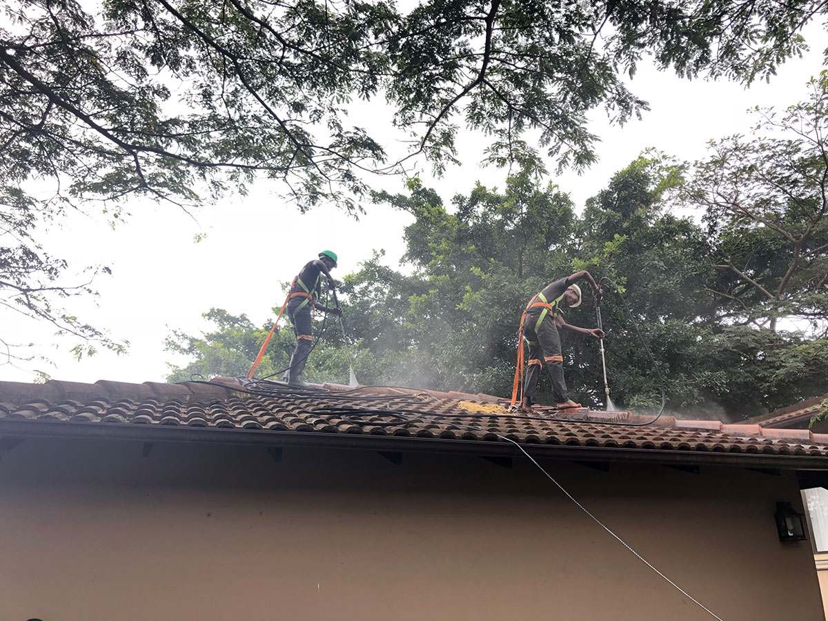 Pressure Cleaning Roof