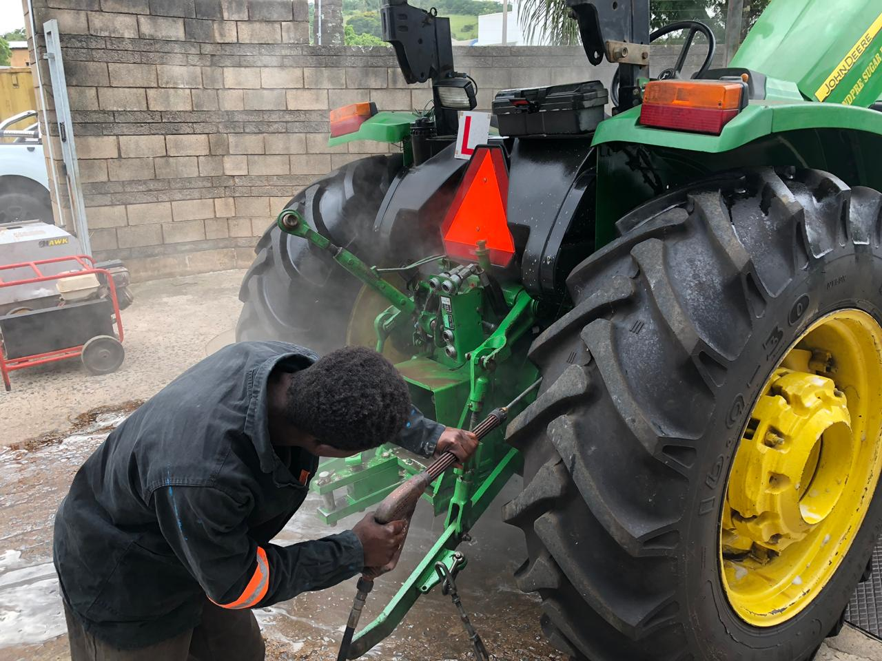 Agricultural Equipment Cleaning