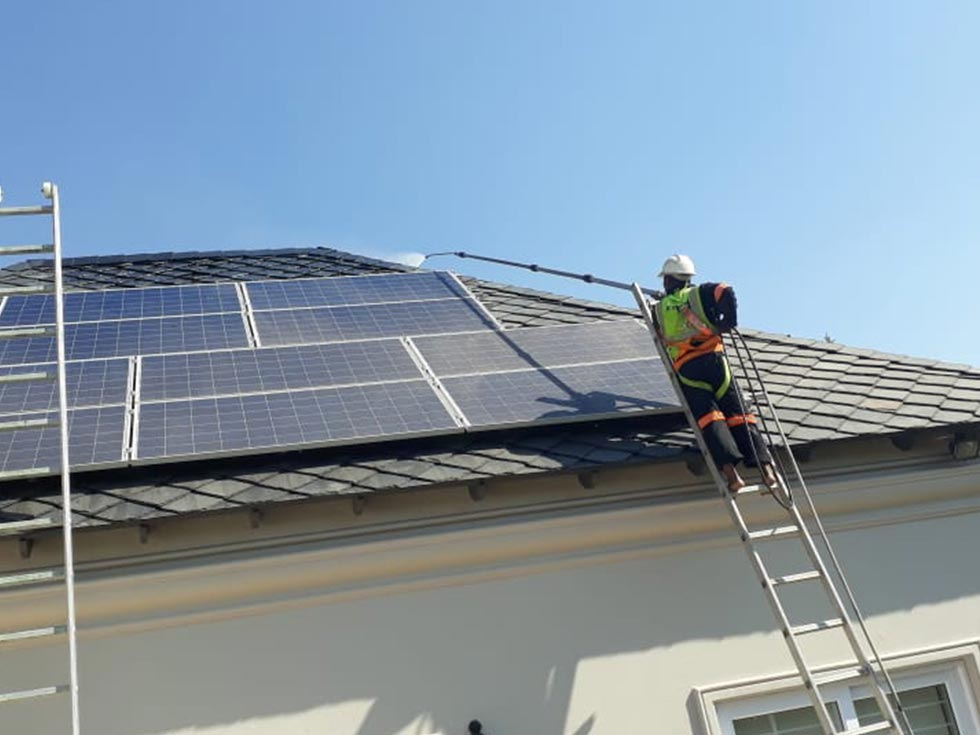 Solar Panel Cleaning JHB