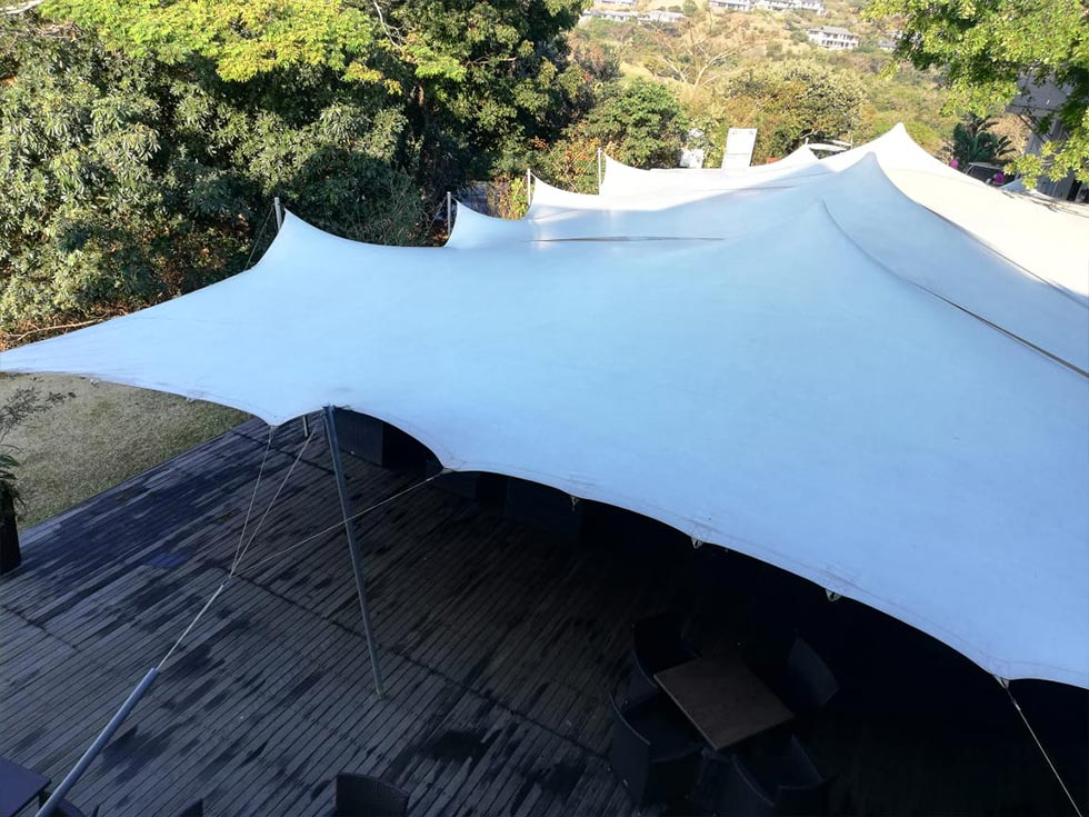Canvas and Stretch Tent Cleaning
