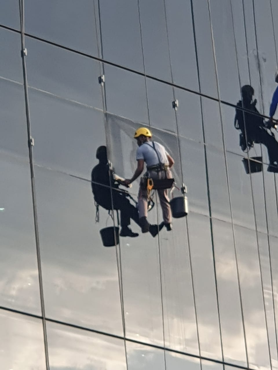 Rope Access Window Cleaning
