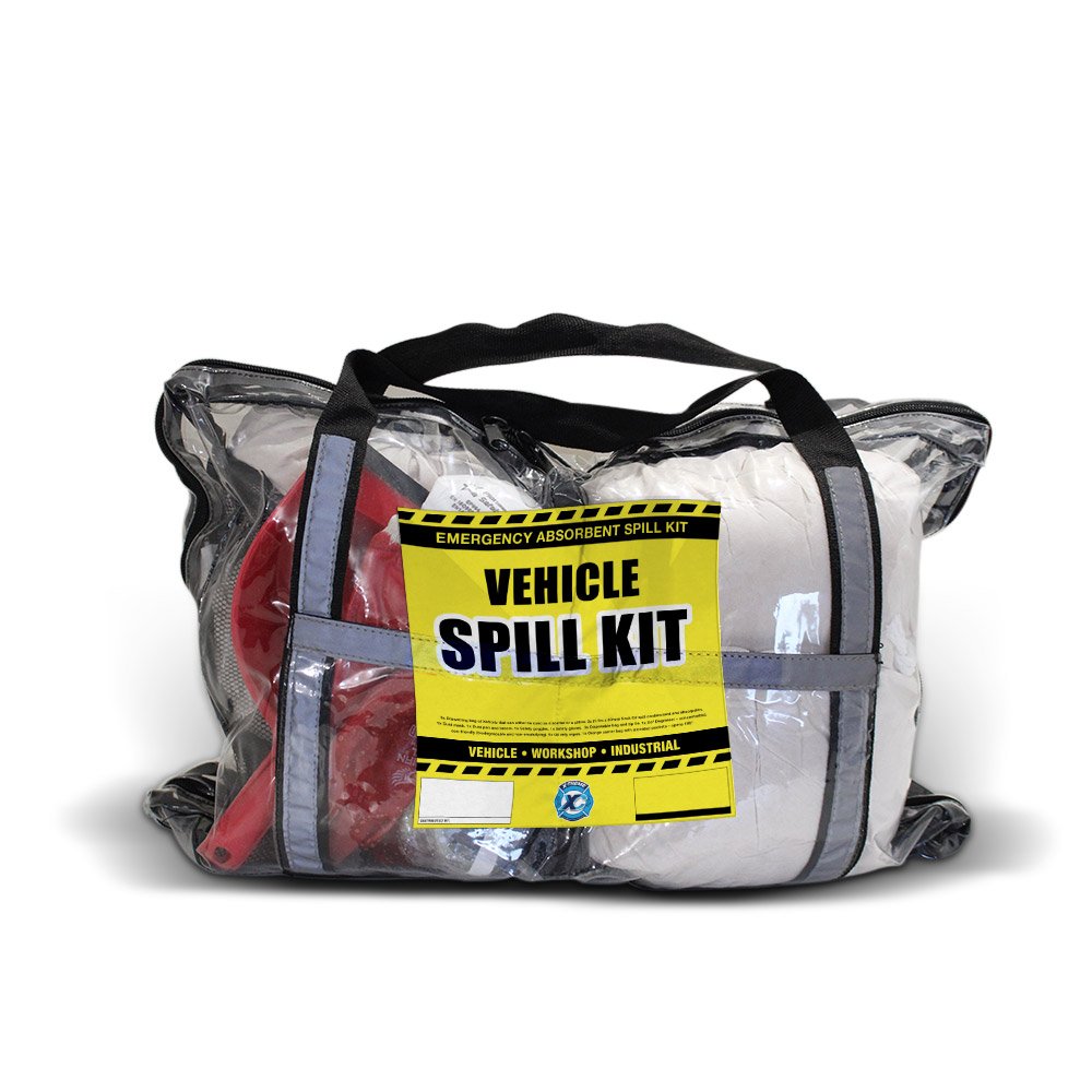 Vehicle Spill Kit Clear Bag